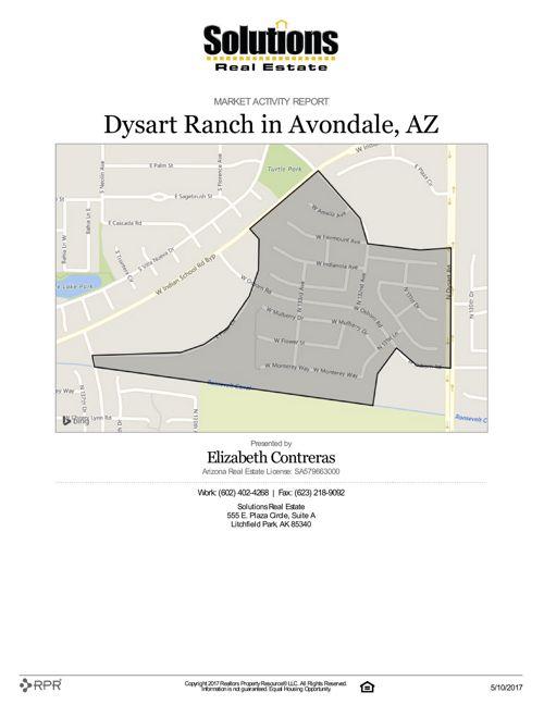 Dysart Ranch Market Activity Report 2017-05-10