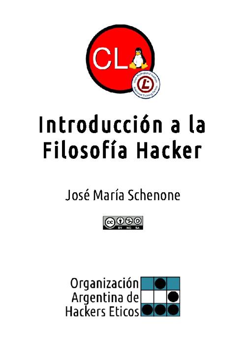 Introducción a la Filosofía Hacker
