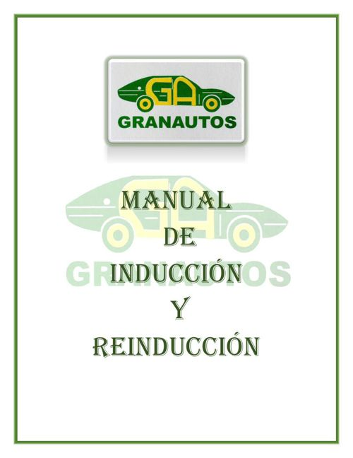 Manual de Inducción-GRANAUTOS Con TC