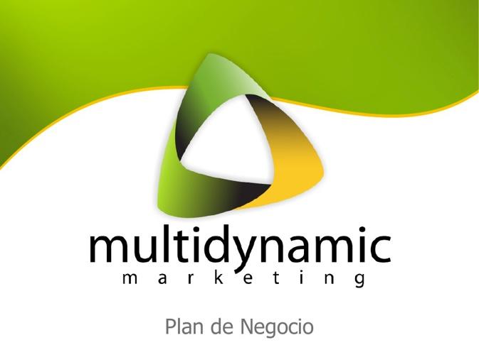 Plan de Negocio - Multidynamic Marketing
