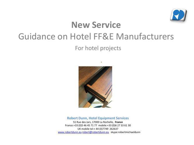 FFE Presentation-Guidance Service