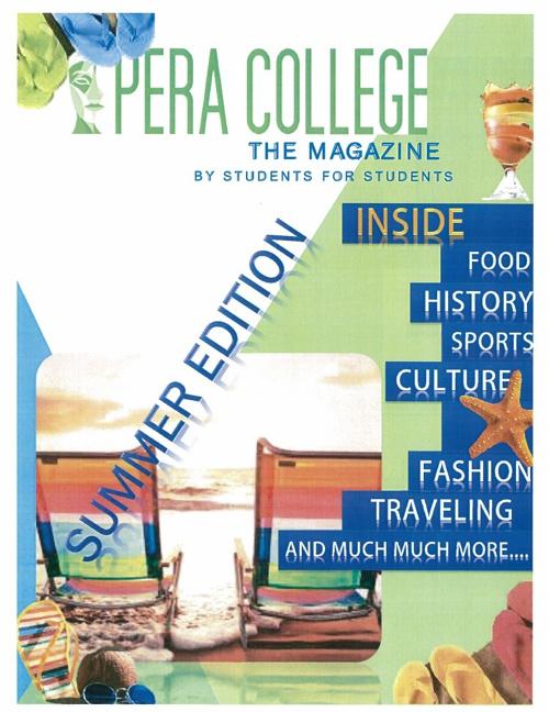 Pera College Students' Magazine