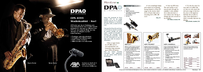 Windcorp Produktbroschyr Mikrofoner