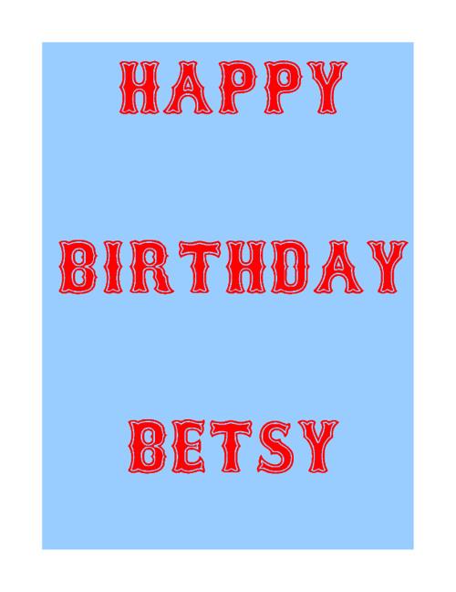 Copy of Betsy