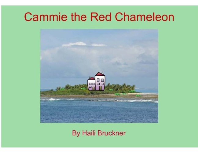 Cammie the Red Chameleon