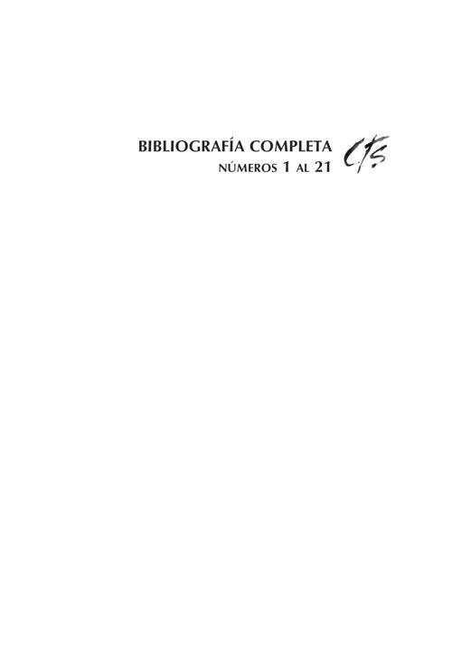 VOL07/S2012 - Bibliografía completa