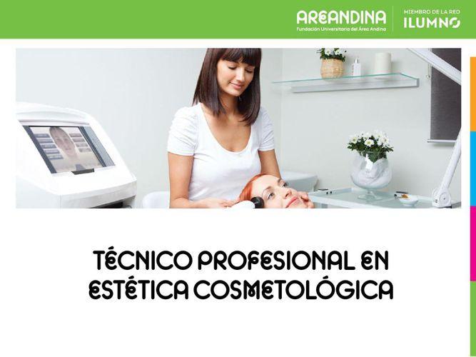 -PORTAFOLIO  PROGRAMA ESTÉTICA COSMETOLÓGICA AREANDINA