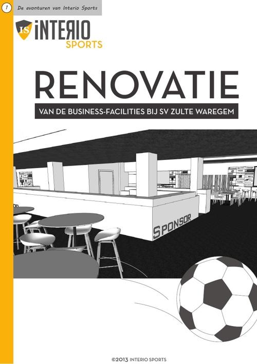 Renovatie van de business-facilities bij SV Zulte Waregem