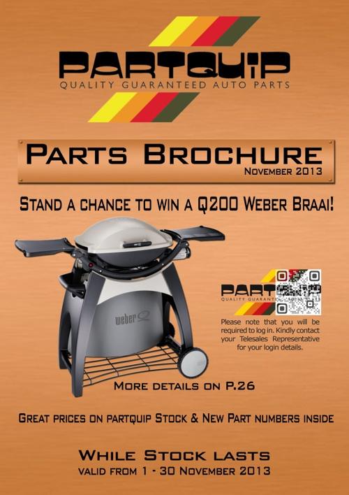 Partquip parts brochure