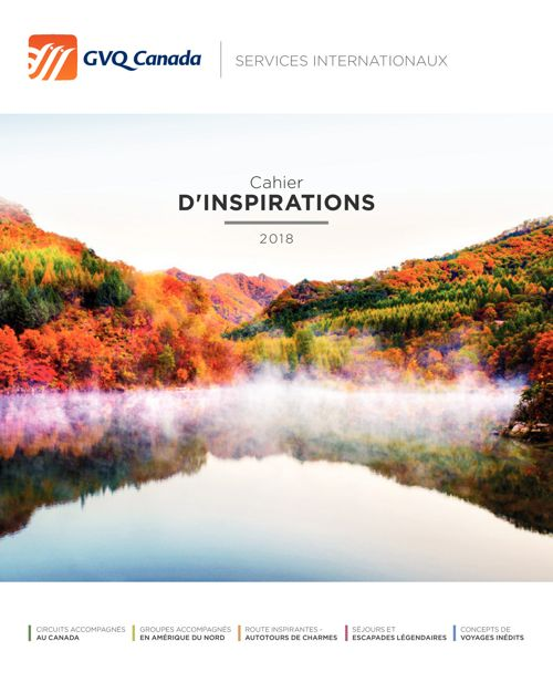 Cahier d'inspirations 2018