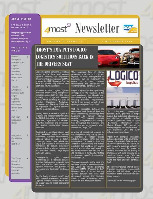 4most Newsletter November 2014