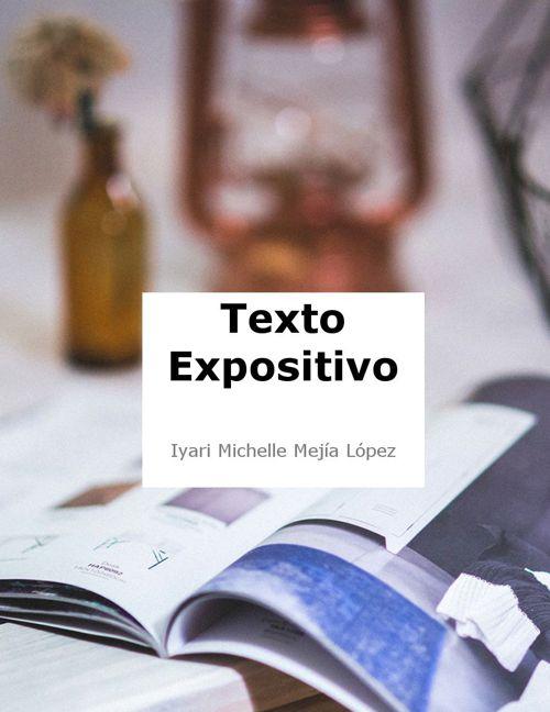 Correcion de Texto expositivo