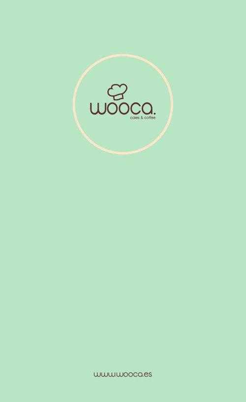 Menú Wooca - Cakes & Coffee