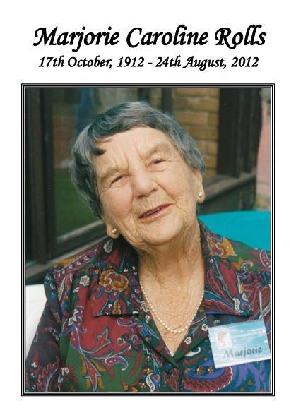 Marjorie Rolls