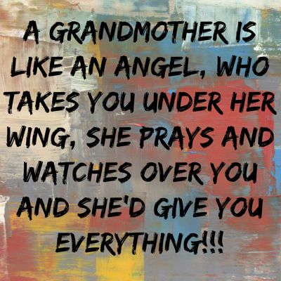 Grandmothers are such a gem!