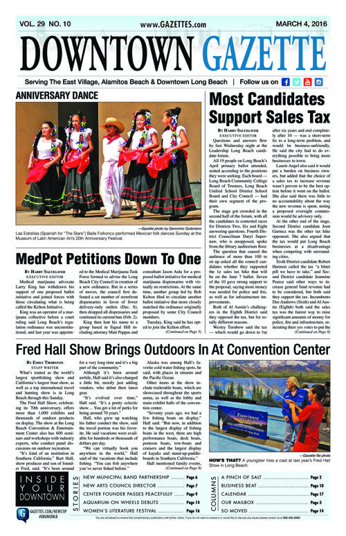 Downtown Gazette  |  March 4, 2016