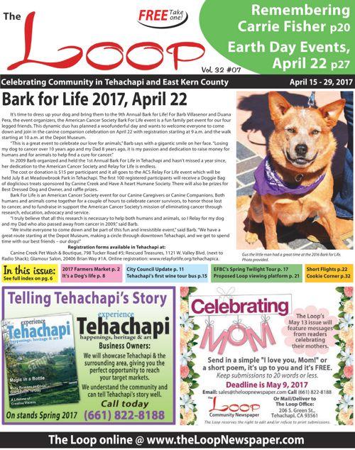 The Loop Newspaper - Vol 32 No 07 - April 15 to 29, 2017