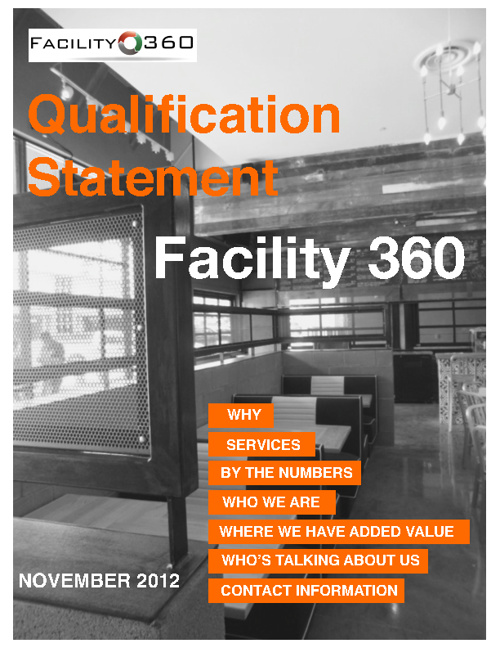 Facility 360 - WHO ARE WE?