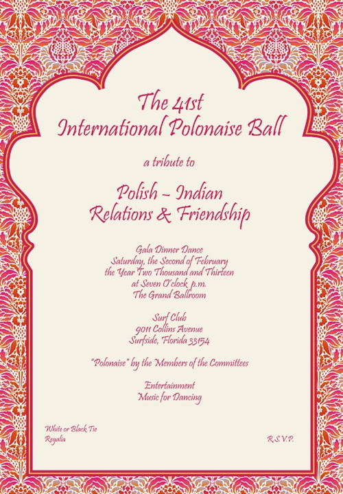 Polonaise Ball 2013