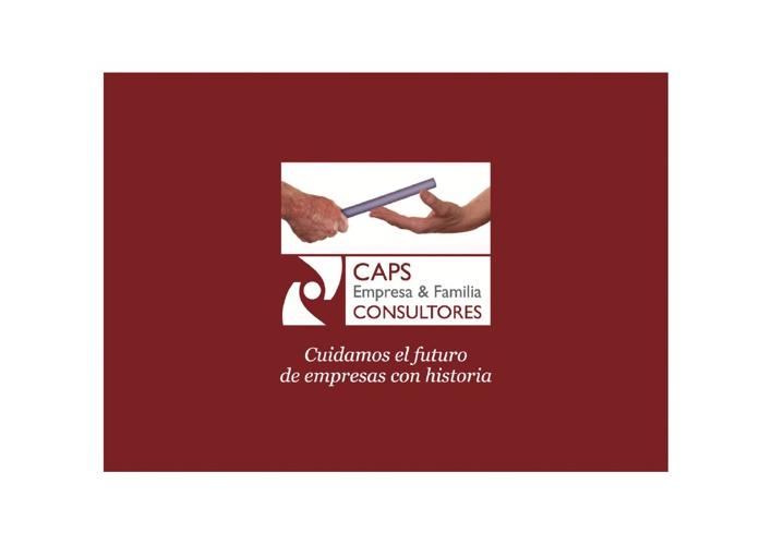 Folleto CAPS Empresa & Familia CONSULTORES