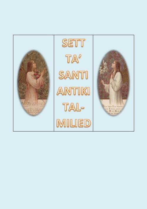 SANTI ANTIKI TAL-MILIED