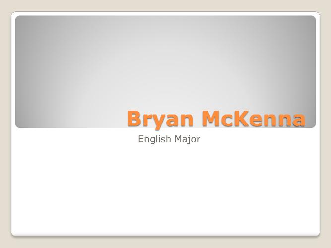 Bryan McKenna