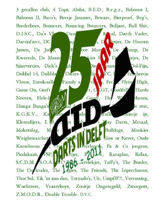 Lustrumboek 25 jaar DID