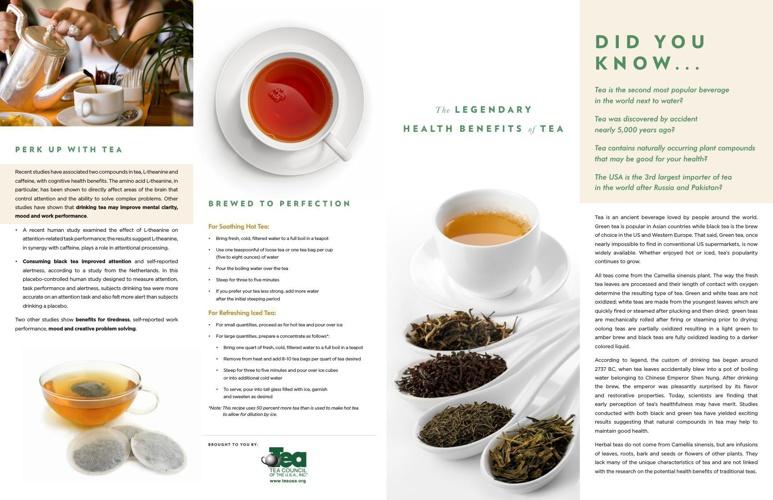 Tea to Health