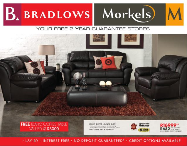 Bradlows Morkels Catalogue Valid from 21 Sept 2015
