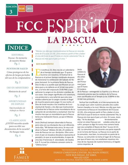 FCC Espiritu-Edición 3, Marzo 2013