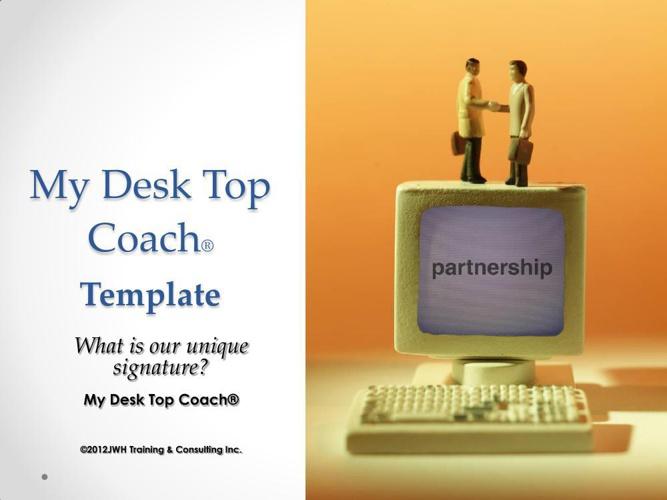 1 DEMO Template DeskTop Coach  2014