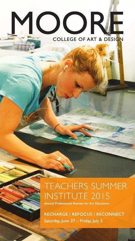 Teachers Summer Institute Brochure 2014