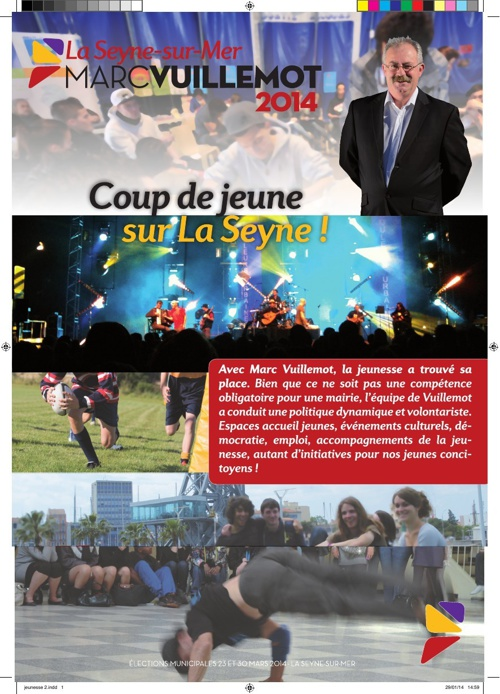 Tract - Les Jeunes Seynois