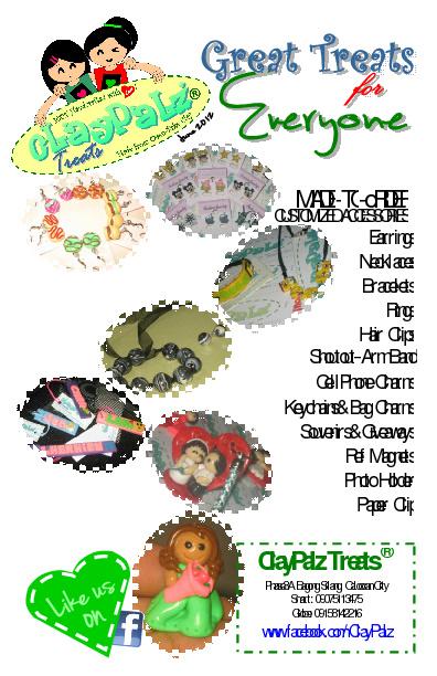 ClayPalz Treats ® Booklet