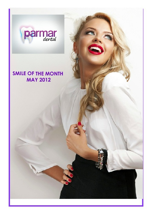 Smile of the Month May 2012