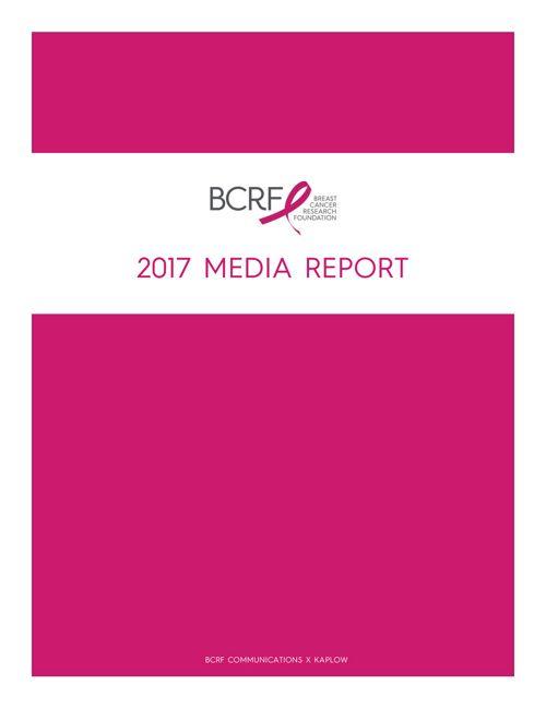 2017 BCRF Media Report print
