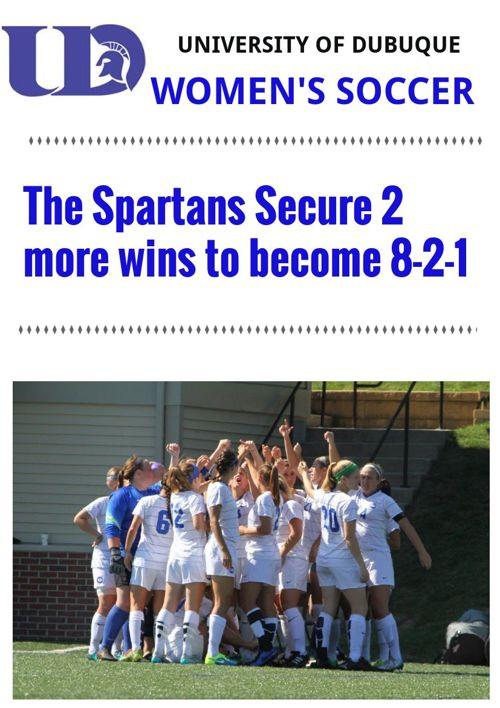 UD Women's Soccer Weeks 3-4