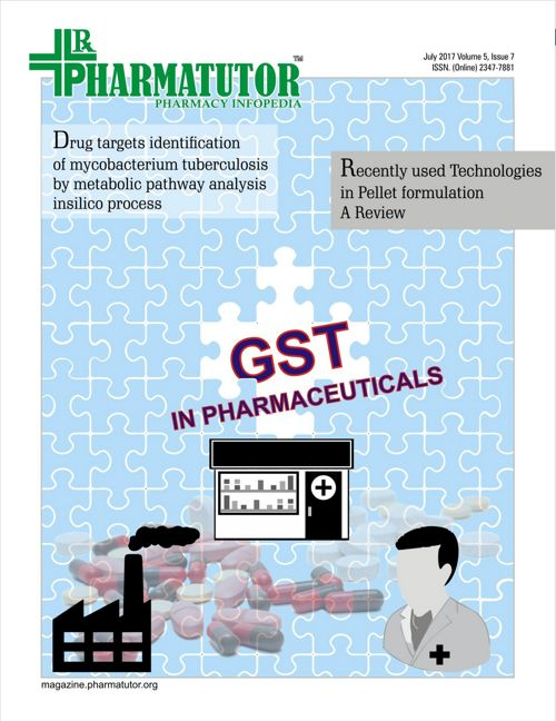 PharmaTutor - July 2017 - VOl 5 Issue 7