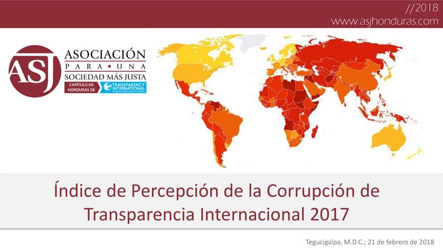IPC 2017: Situación específica de Honduras