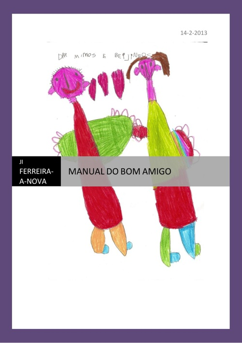 Manual do bom amigo