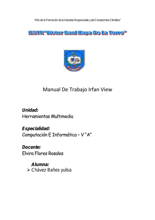 manual de irfan view