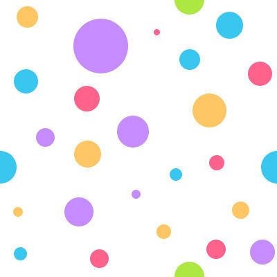 Colores-burbujas-polca-puntos