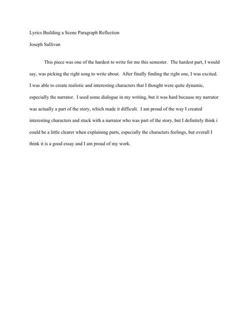 6.LyricsBuildingaSceneParagraphReflection