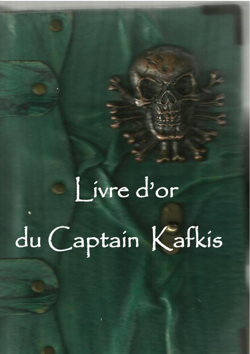 Livre d'or 2013 du captain kafkis