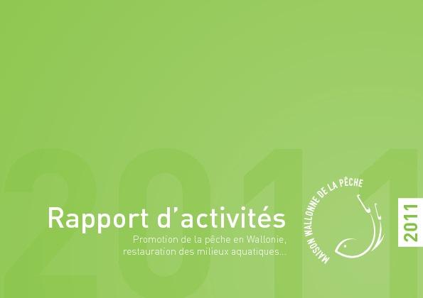 Rapport d'activité de la Maison Wallonne de la Pêche
