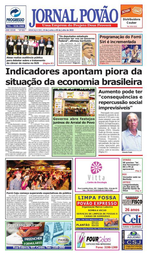 Jornal Povão Edição Janeiro
