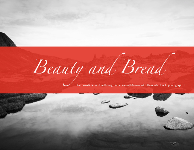 Beauty and Bread