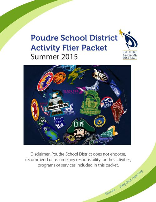 PSD Summer Activity Flier Packet