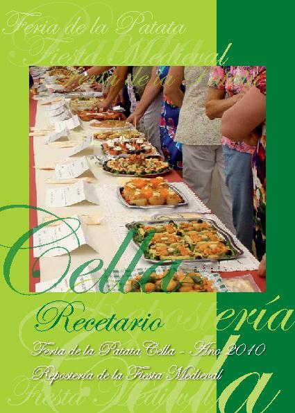 Feria de la Patata. Cella - Año 2010 / Repostería Fiesta Medieva