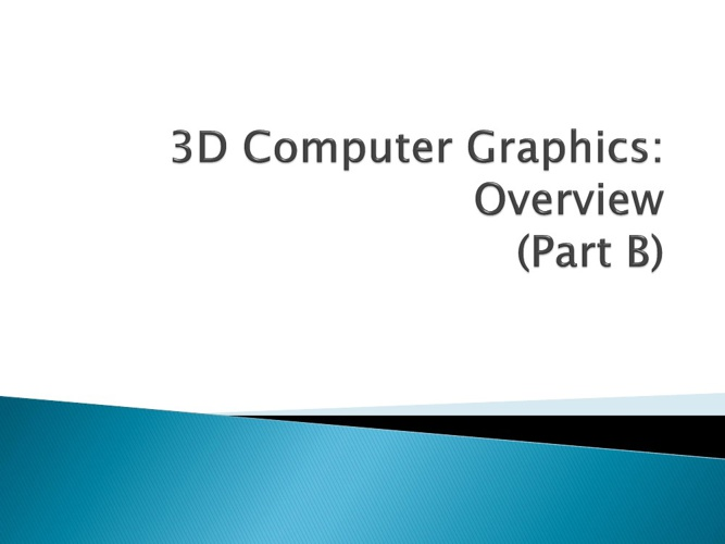 KMK 2033 Computer Graphics (Shelf 4)